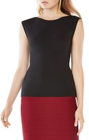 BCBGMAXAZRIA Thera Scoop Back Jersey Top