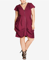 City Chic Trendy Plus Size Tunic Dress