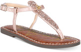 Sam Edelman Gigi Charm Sandals, Little Girls (11-3) and Big Girls (3.5-7)