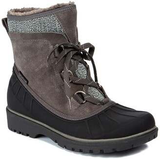 Bare Traps Springer Faux Shearling Lined Waterproof Cold Weather Boot