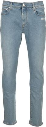 Off-White Off White Diag Slim Pocket Jeans
