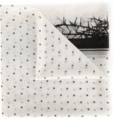Haider Ackermann polka dot print scarf