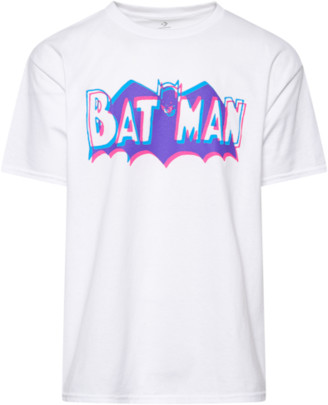Converse Chinatown Market x Batman T-Shirt - White / Purple Blue