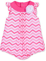 First Impressions Chevron-Striped Chiffon Bubble Romper, Baby Girls (0-24 months), Created for Macy's