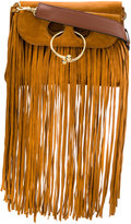 J.W.Anderson small Pierce fringed shoulder bag - women - Calf Suede/metal - One Size