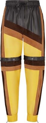 Fendi Colour Block Track Pants