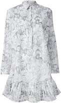 Paul Smith cactus sketch print shirt dress - women - Cotton - 44
