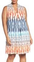 Tart Plus Size Women's 'Tara' Print Jersey A-Line Dress