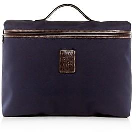 Longchamp Boxford Canvas Briefcase