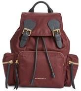 Burberry 'Medium Runway Rucksack' Nylon Backpack - Black