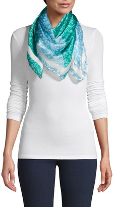 Laundry by Shelli Segal Floral-Print Scarf