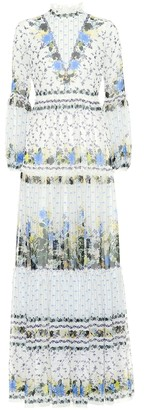 Erdem Cassandra floral silk dress