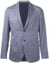 Etro floral print blazer - men - Silk/Cotton/Polyamide/Cupro - 46