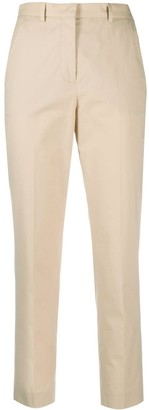 Incotex Cropped Slim Fit Trousers