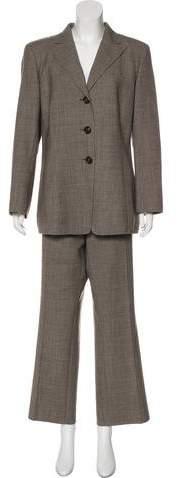 Akris Wool Wide-Leg Pantsuit