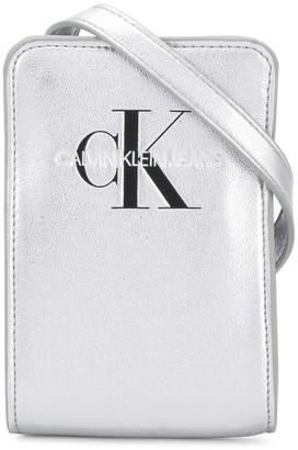 Calvin Klein Kids Engraved Logo Shoulder Bag