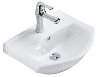 "The Renovators Supply Inc. Vitreous China 18"" Wall Mount Sink with Overflow The Renovators Supply Inc."