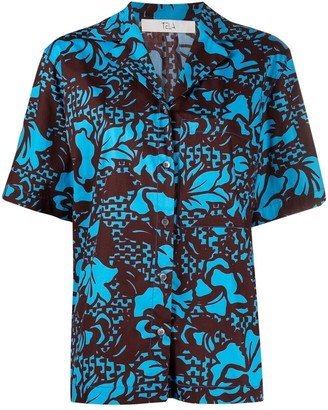 Tela Graphic-Print Cotton Shirt