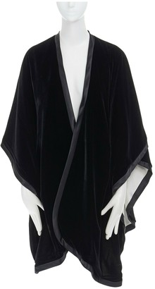 Adrienne Landau Black Silk Jacket for Women