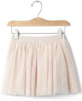 Gap Dotty tulle flippy skirt
