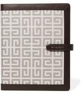 Givenchy Faux Leather-Trimmed Jacquard Ipad Case