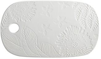Maxwell & Williams Panama Stoneware Cheese Platter 40x23cm White
