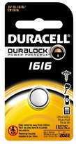Duracell Security Battery 3 V Model No. 1616 Carded