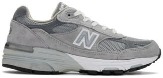 New Balance Grey 993 Sneakers