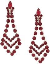 Susan Caplan Vintage 1980's Art Deco style chandelier earrings