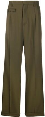 Marni high-rise wide-leg trousers