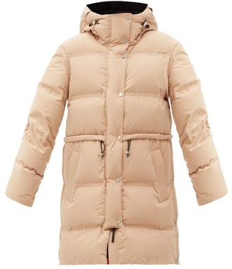 Aztech Mountain Galega Hooded Quilted-down Shell Coat - Dark Beige