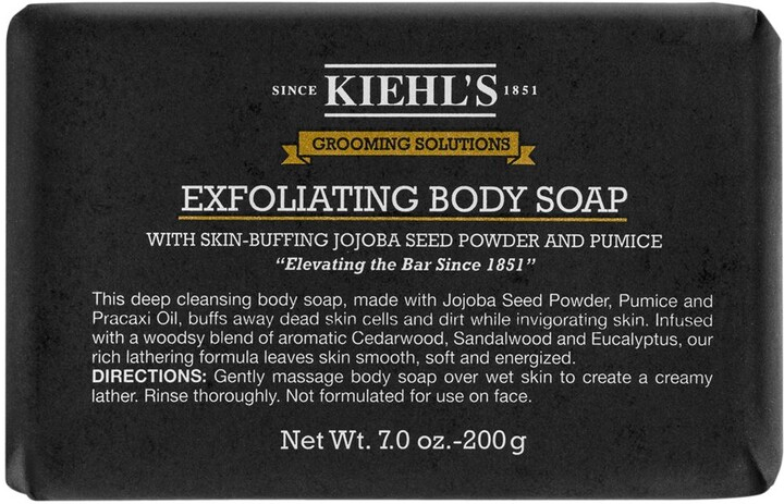 Thumbnail for your product : Kiehl's Grooming Solutions Exfoliating Body Soap Bar, 200g