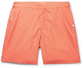 Derek Rose Tropez 3 Mid-Length Printed Swim Shorts