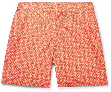 Derek Rose Tropez 3 Mid-Length Printed Swim Shorts