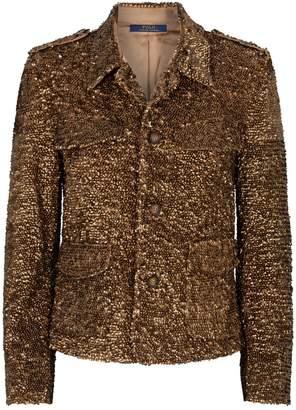 Polo Ralph Lauren Sequin-Embellished Jacket