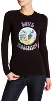 Love Moschino Plant Graphic Long Sleeve Tee