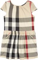 Burberry Judie cotton dress 4-14 years