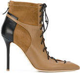 Malone Souliers Montana lace-up booties