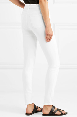 J Brand Maria High-rise Skinny Jeans - White