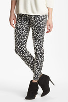 Hue Leopard Denim Legging