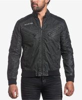 Affliction Men's Black Moon Full-Zip Moto Jacket