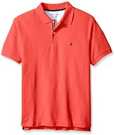 Nautica Men's Big-Tall Performance Pique Polo Shirt