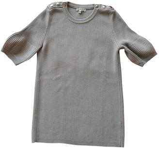 Burberry Khaki Wool Knitwear for Women