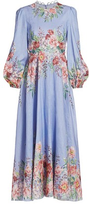 Zimmermann Bellitude Flora Maxi Dress
