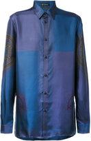 Versace neoclassic print shirt - men - Silk - 41