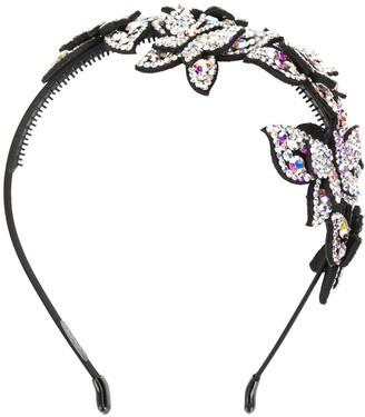P.A.R.O.S.H. Rhinestone Butterfly Headband
