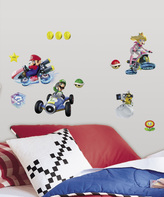 Nintendo Mario Kart 8 Racing Peel & Stick Decal Set