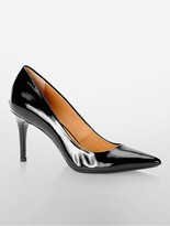 Calvin Klein Gayle Liquid Patent Leather Pump