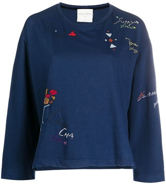 Forte Forte Embroidered Detail Jumper