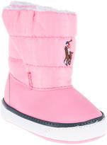 Polo Ralph Lauren Light Pink Damien Booties - Infant